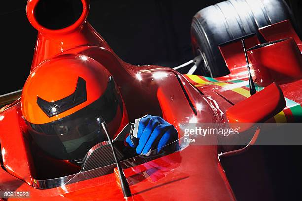 racecar driver preparing for a race - will power race car driver stock pictures, royalty-free photos & images