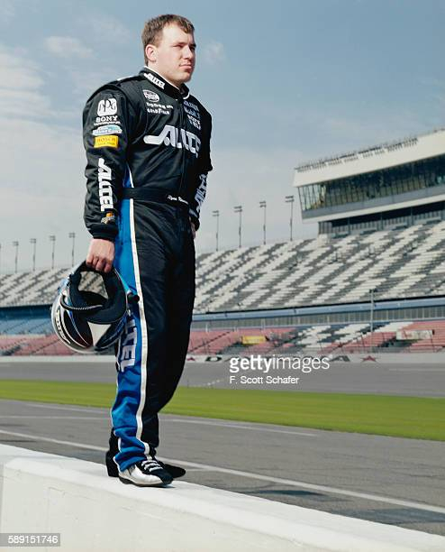 Racecar driver Ryan Newman is photographed for ESPN The Magazine in 2004