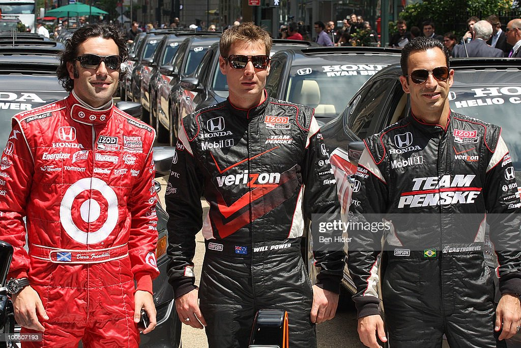 Macy's And IZOD Celebrate The Indianapolis Motor Speedway And The Indy 500 : Foto jornalística