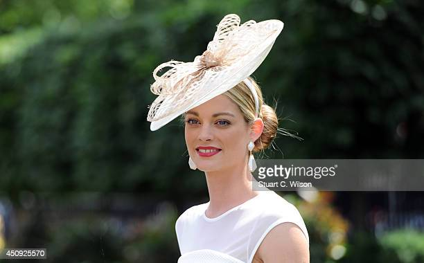 A racegoer attends Day 4 of Royal Ascot at Ascot Racecourse on June 20 2014 in Ascot England