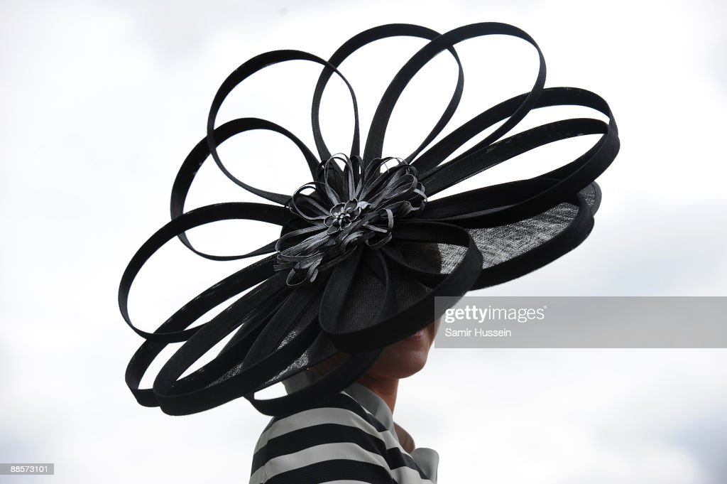 A racegoer attends Ladies Day of Royal Ascot at Ascot Racecourse on June 18, 2009 in Ascot, England.