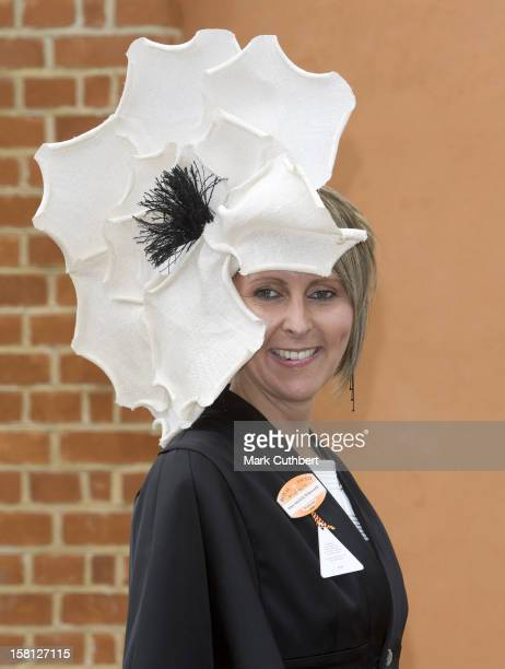 A Racegoer On Day Two Of Royal Ascot In Berkshire