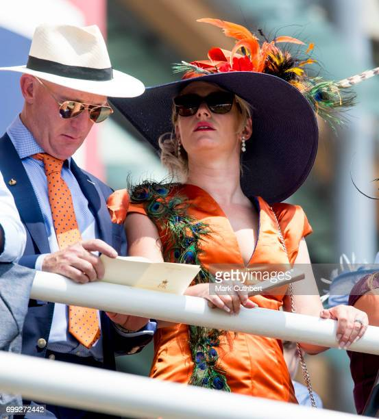 Racegoers at Royal Ascot 2017 at Ascot Racecourse on June 21 2017 in Ascot England