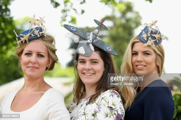 Racegoers attend day 4 of Royal Ascot 2017 at Ascot Racecourse on June 23 2017 in Ascot England