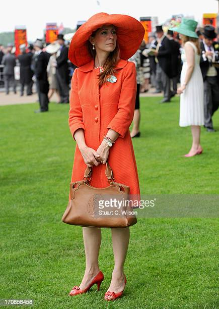 Racegoers attend day two of Royal Ascot at Ascot Racecourse on June 19 2013 in Ascot England
