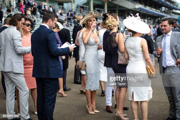 Racegoers attend Royal Ascot 2017 at Ascot Racecourse on June 22 2017 in Ascot England The Season in Britain today loosely refers to various...