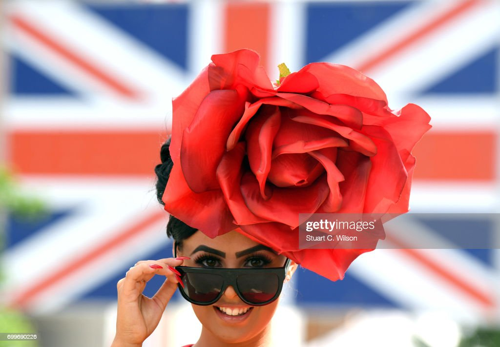 Racegoers attend Royal Ascot Ladies Day 2017 at Ascot Racecourse on June 22, 2017 in Ascot, England.