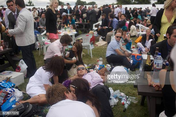 Racegoers enjoy the scene at the Royal Ascot After over a decade of Labour Government in Great Britain the gap between the wealthy and the poor is as...