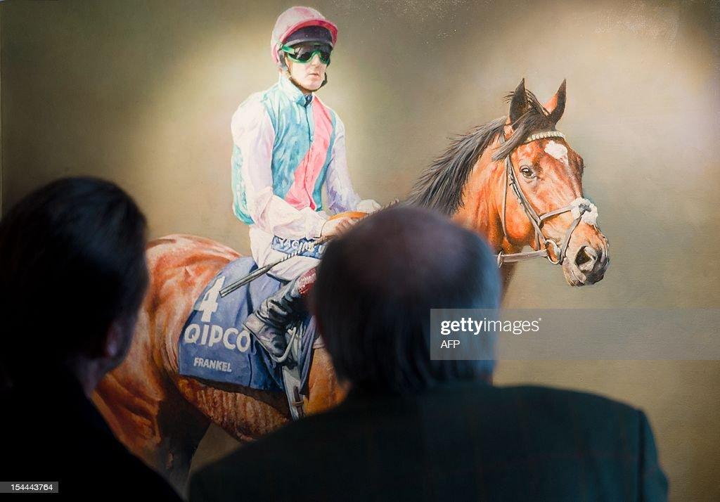 BRITAIN-SPORT-HORSE RACING : News Photo