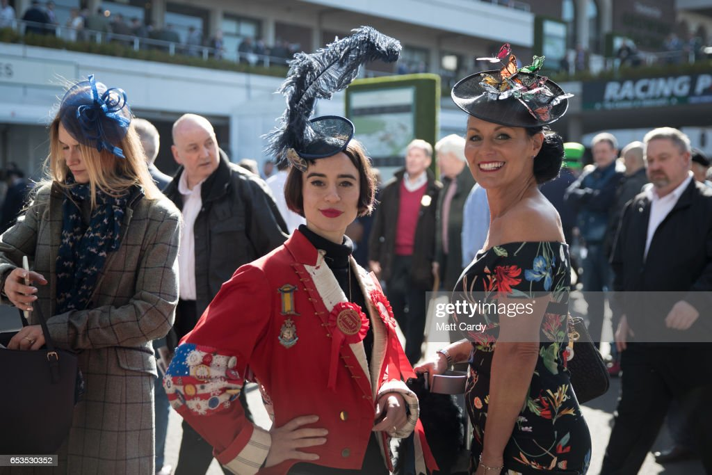 Racegoers Attend Day Two Of The Cheltenham Festival : News Photo