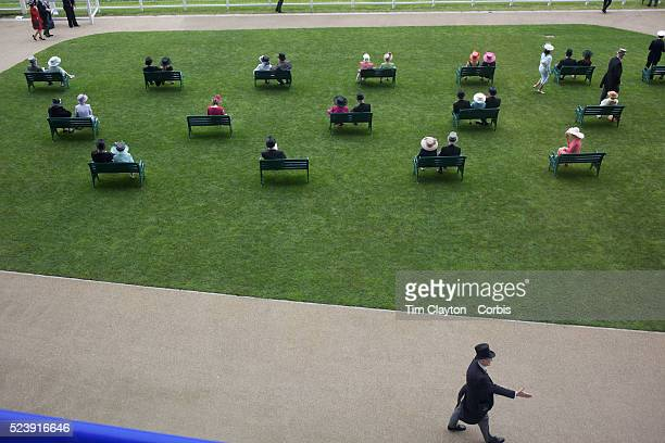 Racegoers sit on benches during the Royal Ascot race meeting After over a decade of Labour Government in Great Britain the gap between the wealthy...