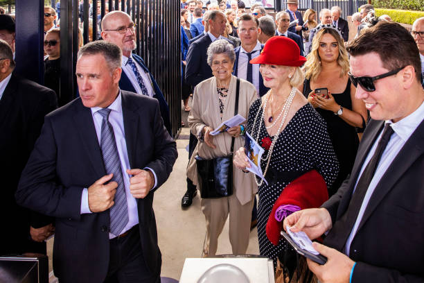 AUS: Racegoers Attend The Championships Day 1