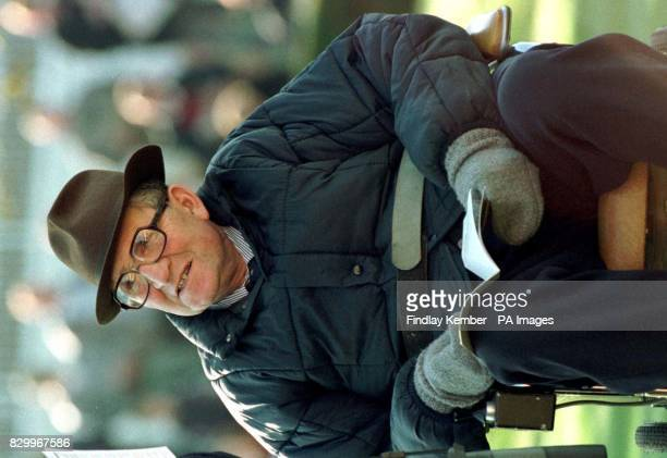 Racehorse trainer Dick Hern at Newmarket today where he ended his 40year career in the Listed James Seymour Stakes Looking back on his career which...