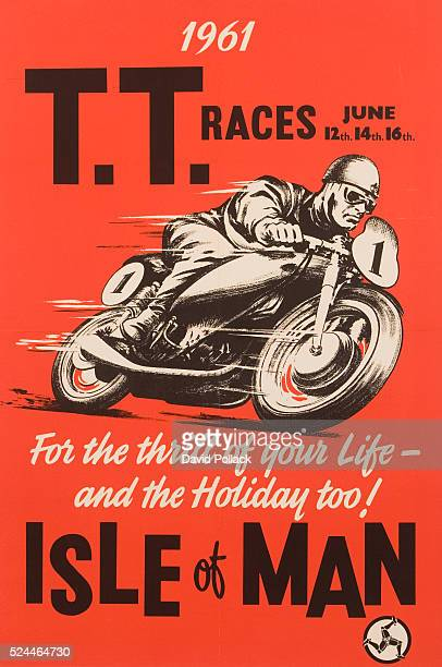 TT Races Isle of Man Poster