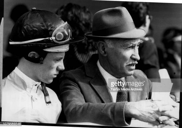 Warwick FarmCloseup Owner FB Lewis Jockey J Powell August 19 1989