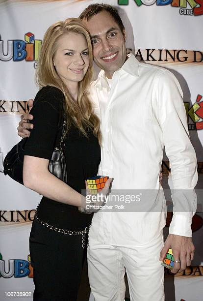 Rachael Anderson and James Haven during Hasbro's Rubiks Cube presents 'Breaking Dawn' US Premiere at the Hollywood Film Festival at Cinespace in...