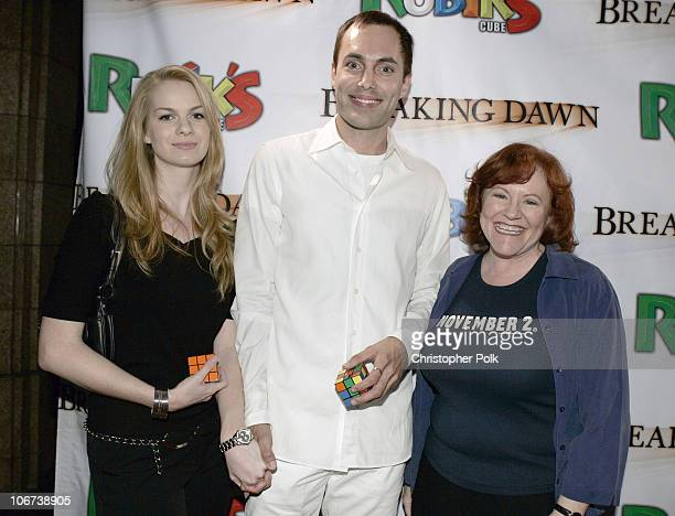 Rachael Anderson James Haven and Edie McClurg during Hasbro's Rubiks Cube presents 'Breaking Dawn' US Premiere at the Hollywood Film Festival at...
