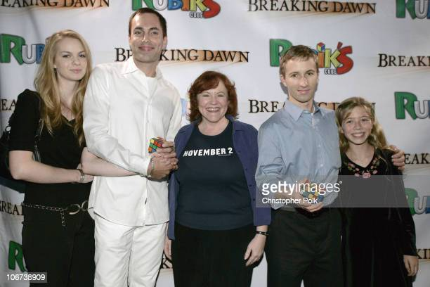 Rachael Anderson James Haven Edie McClurg Dan Knights Rubik's Cube World Champion and Jennette McCurdy