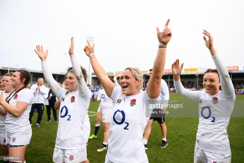 England v Italy – Womens Six Nations : ニュース写真