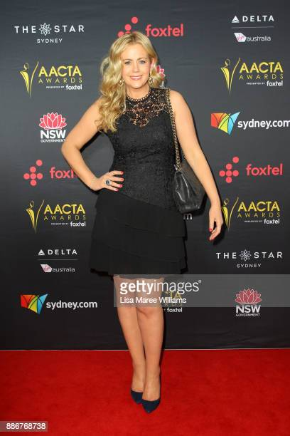 Rachael Carpani attends the 7th AACTA Awards Presented by Foxtel | Ceremony at The Star on December 6 2017 in Sydney Australia