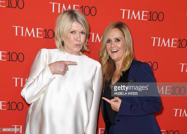Rachael Denhollander and Aly Raisman attend the TIME 100 Gala celebrating its annual list of the 100 Most Influential People In The World at...