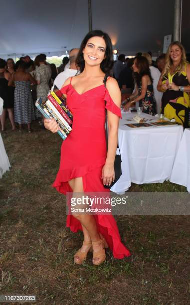 Rachael Eckles at the East Hampton Library's 15th Annual Authors Night Benefit, on August 10, 2019 in Amagansett, New York.