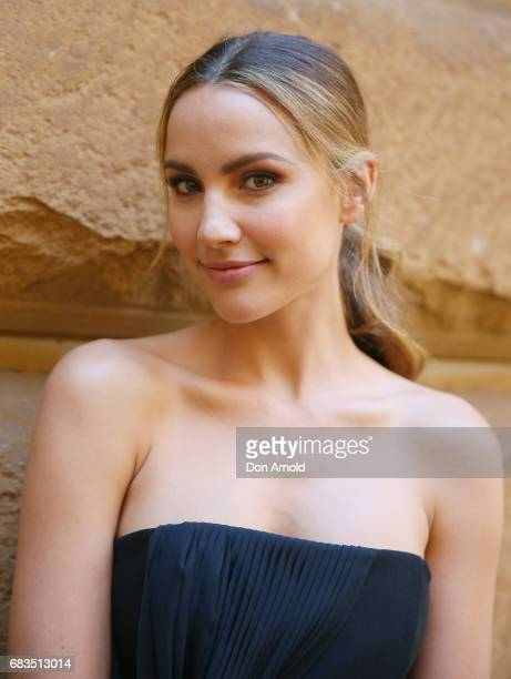Rachael Finch arrives ahead of the Acler X Myer lunch at No 1 Bent Street on May 16 2017 in Sydney Australia
