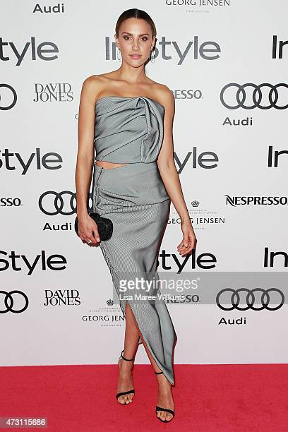 Rachael Finch arrives at the 2015 Women of Style Awards at Carriageworks on May 13 2015 in Sydney Australia