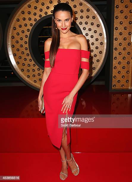 Rachael Finch attends the launch of Emporium Melbourne on August 20 2014 in Melbourne Australia