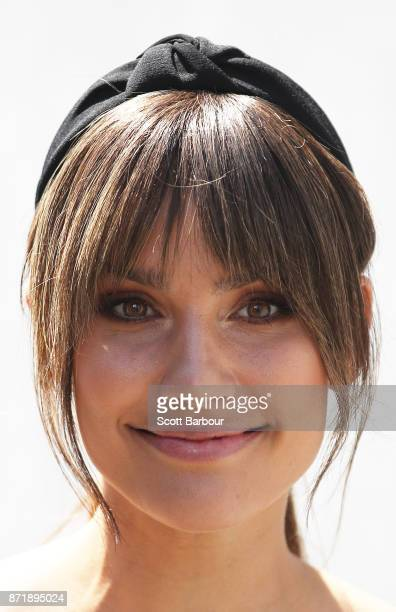 Rachael Finch attends the Myer Marquee on Oaks Day at Flemington Racecourse on November 9 2017 in Melbourne Australia