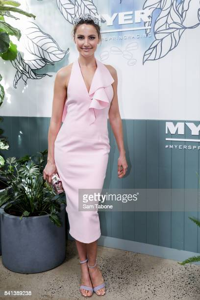 Rachael Finch during the Myer Spring Racing 2017 Collections Launch on September 1 2017 in Melbourne Australia