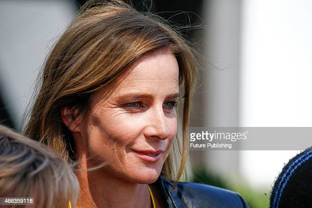 Rachael Griffiths arrives on race day for the 2015 Australian Formula 1 Grand Prix on March 15 2015 in Melbourne Australia Chris Putnam / Barcroft...