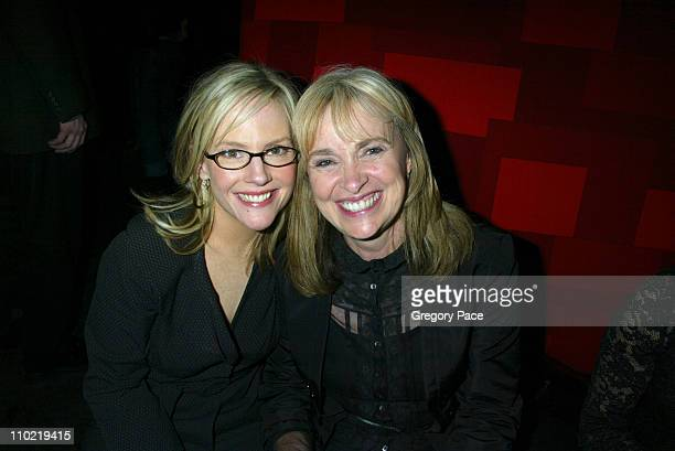 "Rachael Harris and Brenda Hampton, co-creator/writer/executive producer of ""Fat Actress"""