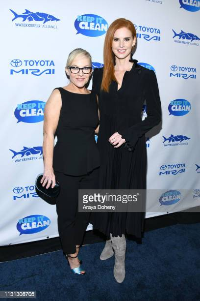 Rachael Harris and Sarah Rafferty at 5th Annual Keep It Clean Live Comedy Benefit For Waterkeeper Alliance at Largo At The Coronet on February 21...