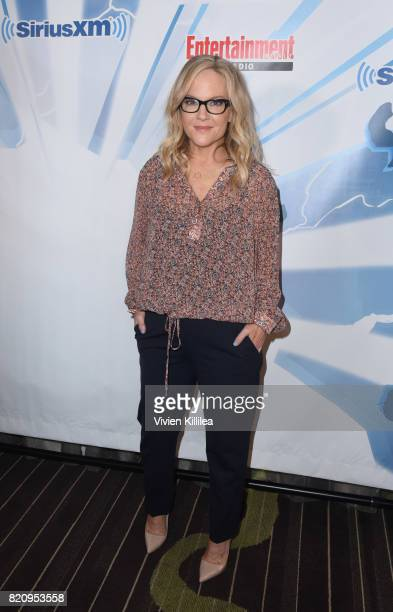 Rachael Harris attends SiriusXM's Entertainment Weekly Radio Channel Broadcasts From Comic Con 2017 at Hard Rock Hotel San Diego on July 22 2017 in...