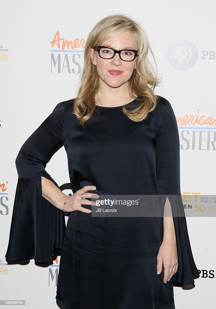 Rachael Harris attends the 'Inventing David Geffen' Los Angeles Premiere held at Writer's Guild Theater on November 13, 2012 in Los Angeles, California.