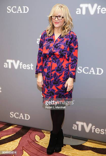Rachael Harris attends the 'Lucifer' event aTVfest on February 7 2016 in Atlanta Georgia