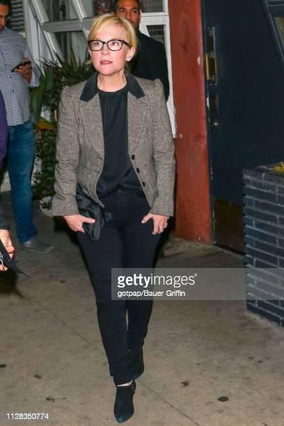 Rachael Harris is seen on March 01 2019 in Los Angeles California