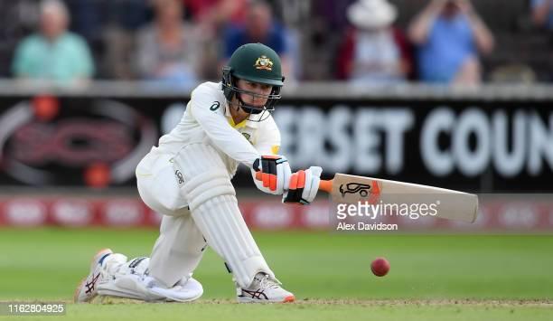 Rachael Haynes of Australia bats during Day One of the Kia Women's Test Match between England Women and Australia Women at The Cooper Associates...