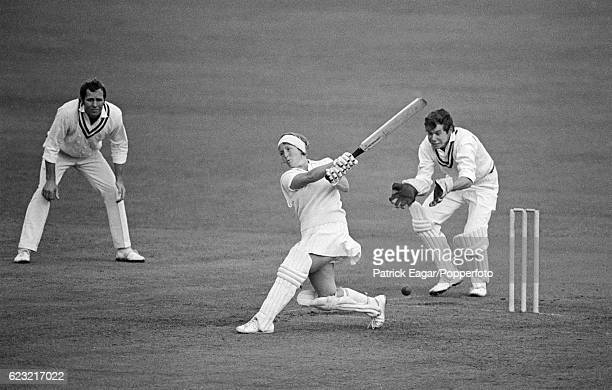 Rachael HeyhoeFlint for England Women during a match between Hampshire and England Women at the County Ground Southampton 15th August 1971 The...