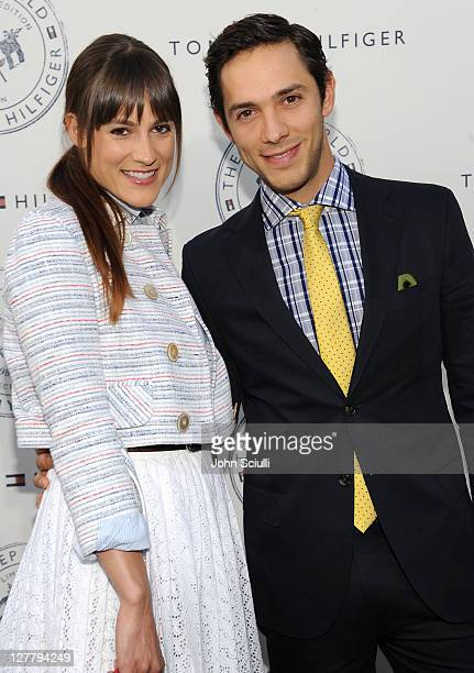 Rachael Kemery and Michael Rady arrive for Tommy Hilfiger and Lisa Birnbach Celebration of Prep World on June 9 2011 in Los Angeles California