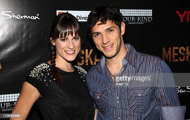 Rachael Kemery and Michael Rady attends Meskada premiere at Cinespace on November 30 2010 in Los Angeles California