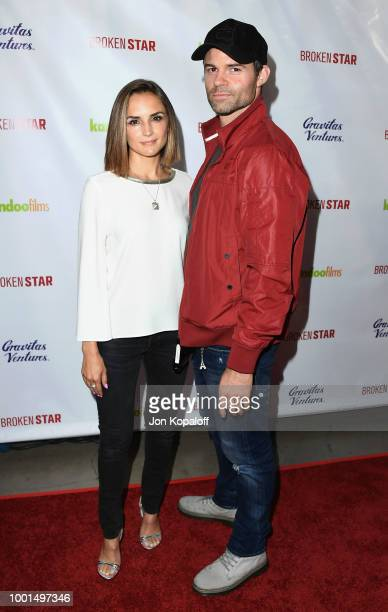 Rachael Leigh Cook and Daniel Gillies attend premiere of Gravitas Ventures' 'Broken Star' at TCL Chinese 6 Theatres on July 18 2018 in Hollywood...