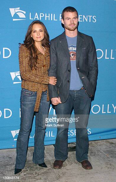 Rachael Leigh Cook and Daniel Gillies during 'A Night At The Copa' At The Hollywood Bowl Arrivals at Hollywood Bowl in Los Angeles California United...