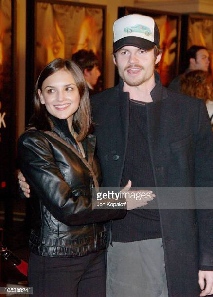 Rachael Leigh Cook and Daniel Gillies during Hide And Seek Los Angeles Premiere Arrivals at 20th Century Fox's Zanuck Theater in Los Angeles...