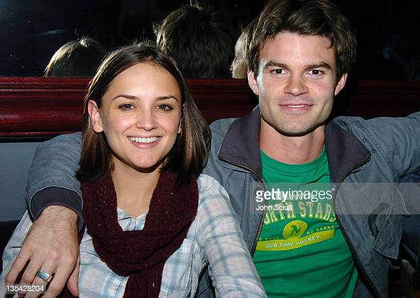 Rachael Leigh Cook and Daniel Gillies during Saw Los Angeles Cast and Crew Screening After Party at Level 3 in Hollywood California United States
