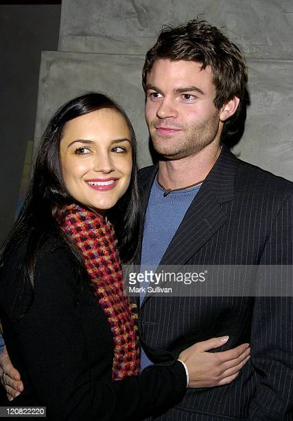 Rachael Leigh Cook and fiance Daniel Gillies during First Look Media Stateside Party at Lounge 417 in Santa Monica California United States