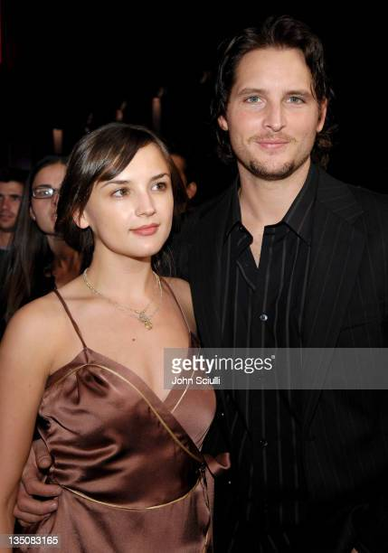 Rachael Leigh Cook and Peter Facinelli during World Premiere of 'Borat Cultural Learnings of America For Make Benefit Glorious Nation of Kazakhstan'...