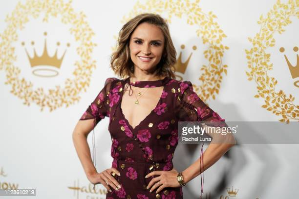 Rachael Leigh Cook attends Hallmark Channel And Hallmark Movies And Mysteries 2019 Winter TCA Tour at Tournament House on February 09, 2019 in...