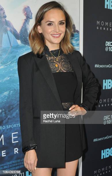 Rachael Leigh Cook attends HBO's Momentum Generation Premiere at The Broad Stage on November 05 2018 in Santa Monica California